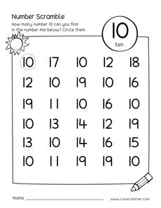 Free number scramble activities MATHEMATIC HISTORY Mathematics is one of the oldest sciences in human Homeschool Preschool Curriculum, Preschool Learning Activities, Preschool Math, Free Activities, Numbers Preschool, Learning Numbers, Math Numbers, Kindergarten Math Worksheets, Kindergarten Lessons