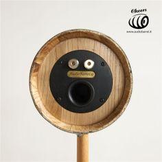 Cheers 3'' Raw Rear - Botte Marsalese di Castagno 3L - 50W 8Ω  Cheers è l'innovativo diffusore acustico ad alta fedeltà brevettato © Exend.it #AudioBotti, #AudioBarrel, #BottiAcustiche, #WineSpeakers #HiFi 3, Cheers, Barrel, Gym Equipment, Audio, Plates, Licence Plates, Dishes, Barrel Roll