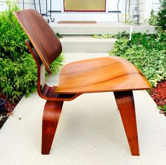 Rare Eames LCW 1947 ROSEWOOD Evans Production by Dead50sModern on Etsy https://www.etsy.com/listing/206966596/rare-eames-lcw-1947-rosewood-evans