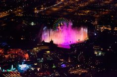 Disney California Adventure World of Color.