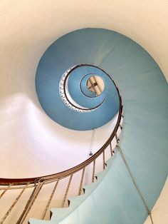 Spiral - lighthouse stairs Denmark