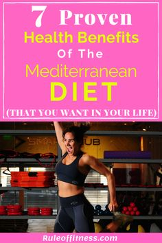 The Mediterranean diet is one of the best diets that promote health and longevity. The Mediterranean die is easy to maintain and helps with weight loss and overall health. Lose weight with this incredible diet. Fat Loss Diet, Weight Loss Diet Plan, Losing Weight Tips, Healthy Weight Loss, Weight Loss Tips, How To Lose Weight Fast, Fitness Nutrition, Fitness Tips, Fitness Challenges
