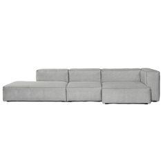 Mags Soft von Hay ist ein modulares Sofa mit vielen Möglichkeiten.Die verschieden langen Elemente vom Mags Sofa können mit Eckmodulen und Chaiselongue kombiniert werden.