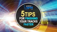 Learn how to become a better music producer and read our 5 tips for finishing your tracks faster. Download free sample packs and audio plugins.