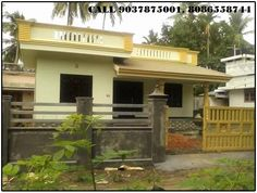House for sale  in Thrissur, Kerala - SICHERMOVE.COM  SMALL SINGLE FLOOR HOUSE IN 6 CENTS,1300 SQ FT 3 BHK ,ATTACHED,SUFFICIENT WATER IN GROUND WELL,KANAKAMALA- CHALAKKUDY ROUTE,ALAVI STOP