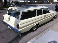 1964 Ford Falcon Station Wagon.... Family car!! Ours was white with red interior!
