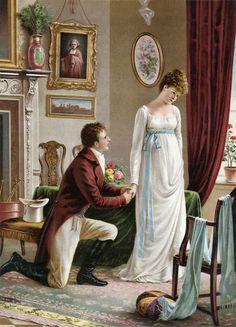 Loves Secret , by William Blake (1757 – 1827)