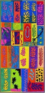 Art Projects for Kids: Ode to Matisse Mural Henri Matisse, Matisse Kunst, Matisse Art, Matisse Cutouts, Collaborative Art Projects, Murals For Kids, Art Classroom, Art Plastique, Elementary Art