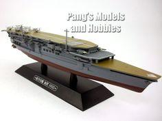 Japanese Navy Carrier Kaga 1/1100 Scale Diecast Metal Model Ship by Eaglemoss