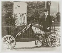 Des de quan hi ha choppers?! O_O - Ruote Rugginose: Old School Chopper from 1910