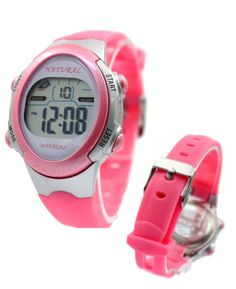 DW327J Chronograph Dátum Alarm Podsvietenie Magenta Bezel Water Resist digitálne hodinky
