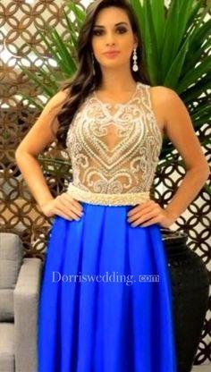 #Valentines #AdoreWe #Dorris Wedding - #Dorris Wedding Delicate Beadings Pearls A-line Evening Dress 2016 Sleeveless Floor-length - AdoreWe.com