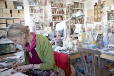 Julie Arkell studio