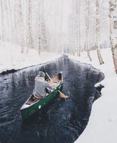 My Scandinavian Home - Best of 2016 a canoe trip in Finland taken by Henrik Koskelo.