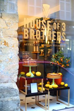 La merveilleuse pâtisserie House of 3 brothers House of 3 Brothers, 25 rue de Lancry, 75010 Paris  https://www.facebook.com/houseof3brothers