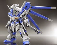 SD hi-nu Gundam Custom Build - Gundam Kits Collection News and Reviews