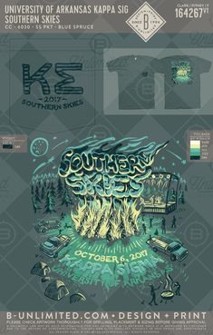 Kappa Sigma Southern Skies function t-shirt! Fraternity Rush Shirts, Fraternity Coolers, Frat Coolers, Sorority Shirt Designs, Sorority Shirts, Sigma Kappa, Theta Xi, Pi Shirt, Rodeo Shirts