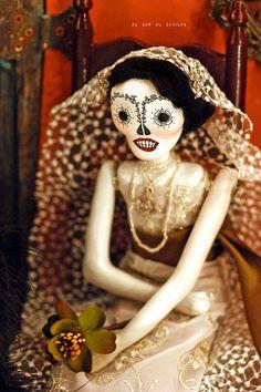 Wonderful work by Christine Alvarado. Day of the dead.