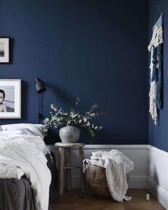 House Navy Blue Bedroom Ideas Navy Blue Master Bedroom Navy Blue Room Black Mold Removal – Can You D Dark Blue Bedroom Walls, Blue Master Bedroom, Dark Blue Walls, Blue Rooms, White Bedroom, Bedroom Colors, Bedroom Decor, Bedroom Ideas, White Walls