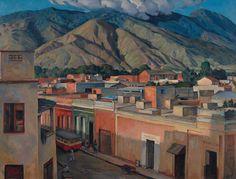 Paisaje de Caracas, San Agustín del Norte, 1939 Pedro Ángel González HD