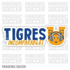Tigres UANL Mexico Vinyl Sticker Decal Calcomania
