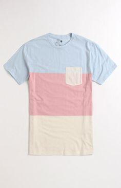 Blaine Colorblock Crew Shirt