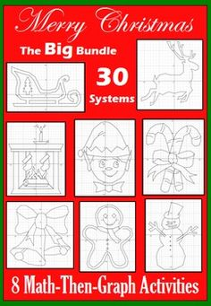 13 Best Christmas 30 Systems Of Linear Equations Images Equation