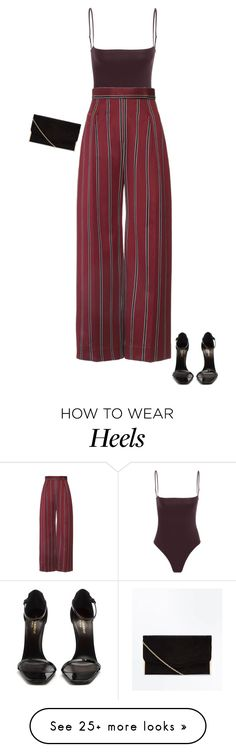"""""""Untitled #807"""" by sophiatuna on Polyvore featuring Yves Saint Laurent"""
