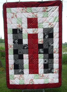 International Harvester Quilt by koniskakouture on Etsy