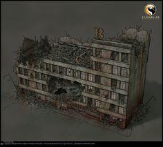 Terminator Salvation videogame concept art