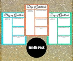 *DIGITAL DOWNLOAD*  Add these printable gratitude journal pages to your scrapbook journal, family journal, printable planner or gratitude