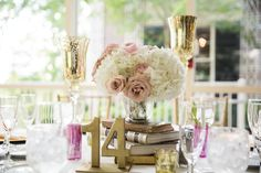Books need to be somewhere at the reception! Real Weddings {Maryland}: Nikkia & James! - Blackbride.com