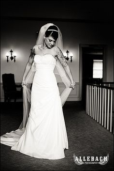 tattooed brides are beautiful, too.  #mcdjs4u