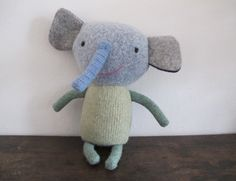 Bruno - the elephant. cute guy-- ears aren't too big and floppy either