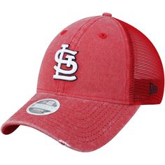 outlet store acc02 d4378 Women s St. Louis Cardinals New Era Red Tonal Washed Trucker 9TWENTY  Adjustable Hat, Your Price   23.99