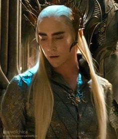 Looking down on dwarves is a talent few possess in such excess as Thranduil. It takes practice.