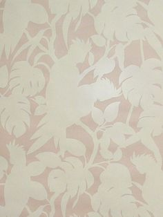 Wallpaper Option - Kate Spade collaboration with Florence Broadhurst