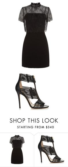 """""""Untitled #1597"""" by alorah178 on Polyvore featuring Sandro and Jimmy Choo"""