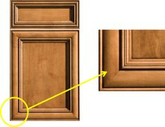 """Dura Supreme's """"Sophia"""" cabinet door style is an example of mitered construction. @Ruth Stark"""