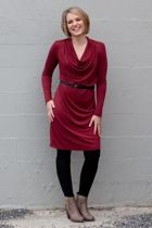 Metalicus clothing Fonda 3/4 Sleeve Dress - Womens Knee Length Dresses - Birdsnest Australia