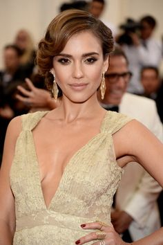 Jessica Alba Reveals Why She Won't Get Naked In Glamour : Trending News : Beauty World News