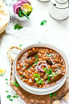 Amritsari Chole Masala//chickpeas curry is one of the ace delicacies of Punjabi cuisine. Amritsari Chole also popular as Chole Bhature because Amritsari Chole is often eaten with a type of fried bread. It is commonly sold by street vendors but also can be