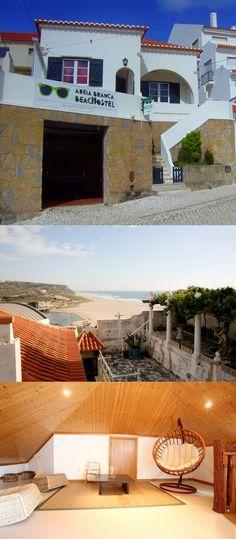 Areia Branca Beach Hostel si trova nei pressi di Lourinha, nella costa atlantica portoghese a nord di Lisbona. Letti da 18€!