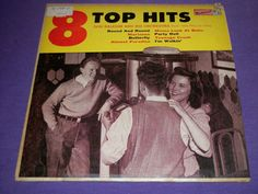 "Don Raleigh / 8 Top Hits / 10"" Vinyl Record / 33-1584 / Jimmy Perry / Les Young"