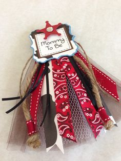 Baby Mustache Mommy To Be Pin Corsage And Name Cutout. Cowboy Baby  ShowerCowboy ...