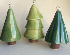 Insieme dell'ornamento di Natale di artcrafthome su Etsy