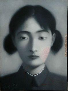 Zhang Xiaogang bloodline 1997 Painting
