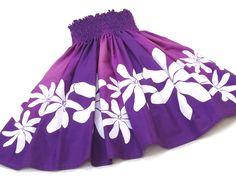 紫のパウスカート・ティアレ no.6349 Island Wear, Cute Kids Fashion, Hula, Boho Shorts, Hawaiian, Skirts, How To Wear, Dresses, Women