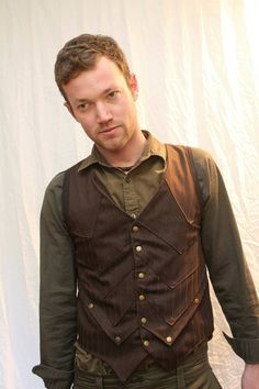 Pinstriped Steampunk Waist Coat by LostBoysRags - Steampunk Steampunk Clothing - Smoked Glass Goggles