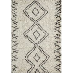 Maya Ivory 7 ft. 10 in. x 9 ft. 10 in. Indoor Area Rug - MAYA0MAY-1IVY7A9A - The Home Depot